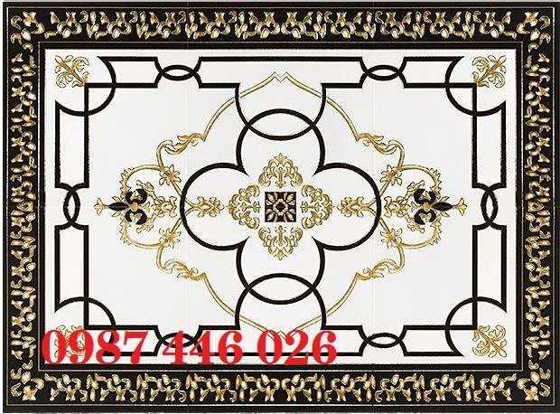 Gạch thảm, thảm gạch trang trí chữ nhật HP04556