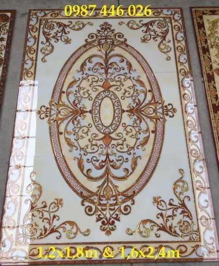 Gạch thảm trang trí trải sàn nhà phòng khách12