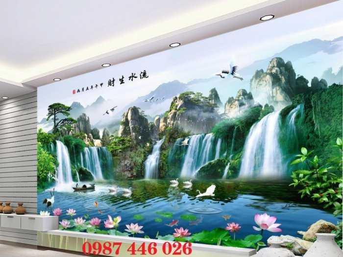Gạch ốp tường, tranh 3d, gạch trang trí phòng khách HP185663