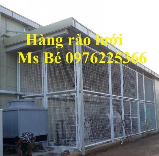 Hàng rào ngăn kho, hàng rào ngăn nhà xưởng sản xuất theo yêu cầu9