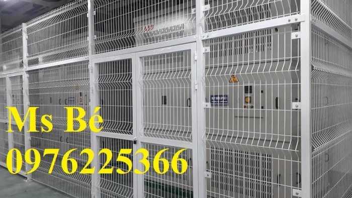 Hàng rào ngăn kho, hàng rào ngăn nhà xưởng sản xuất theo yêu cầu8