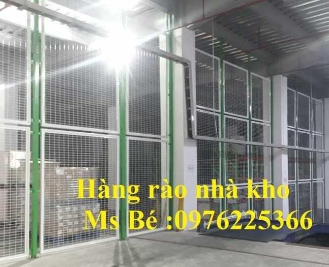 Hàng rào ngăn kho, hàng rào ngăn nhà xưởng sản xuất theo yêu cầu6