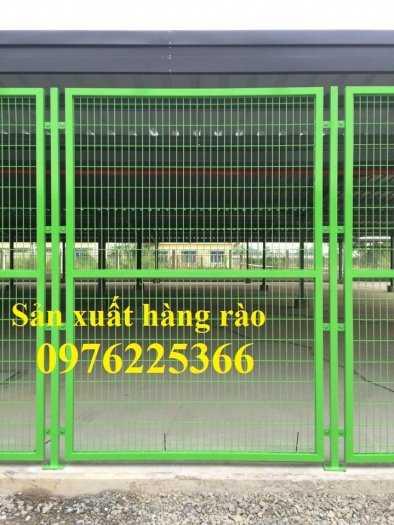 Hàng rào ngăn kho, hàng rào ngăn nhà xưởng sản xuất theo yêu cầu5