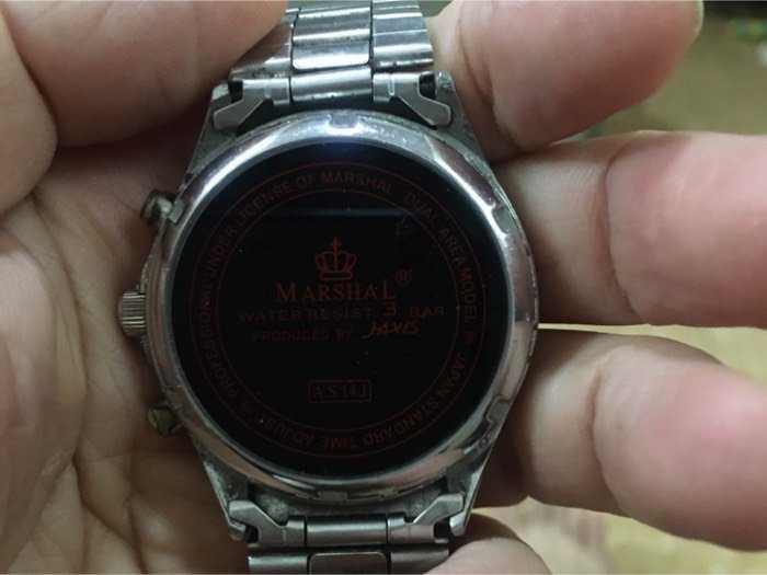 Đồng hồ Marshel3
