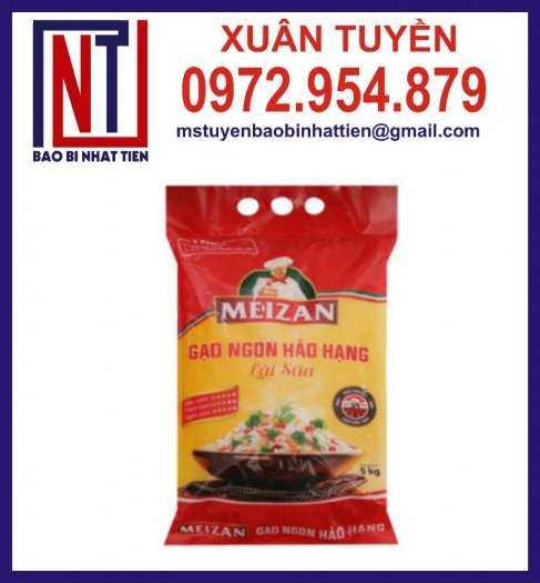 Bao bì đựng gạo, cung cấp bao bì gạo9