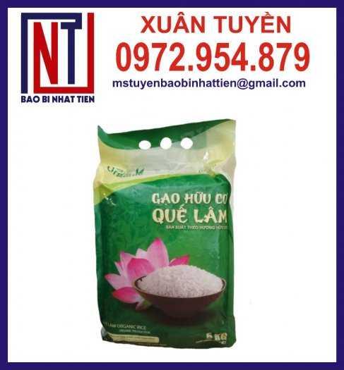 Bao bì đựng gạo, cung cấp bao bì gạo8