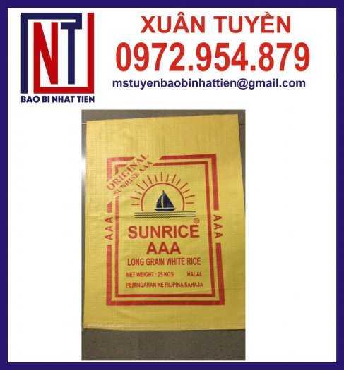 Bao bì đựng gạo, cung cấp bao bì gạo3