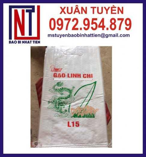 Bao bì đựng gạo, cung cấp bao bì gạo2