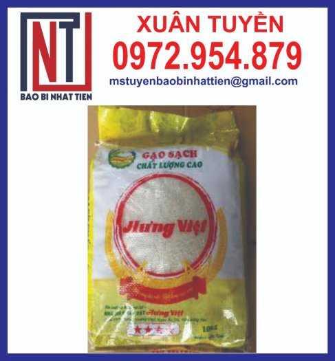 Bao bì đựng gạo, cung cấp bao bì gạo1