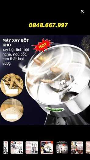 Máy xay ngũ cốc mini gia đình 800g xay siêu mịn giá tốt9