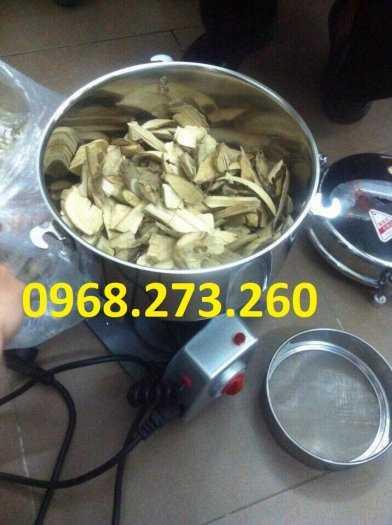 Máy xay thuốc bắc xay dược liệu xay bột khô siêu mịn 2500g6
