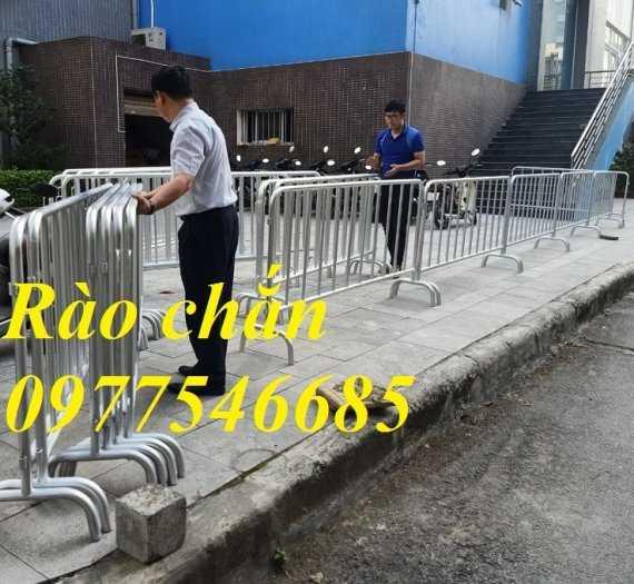 Bán hàng rào di động, khung hàng rào chắn, rào chắn đường, khung hàng rào sắt4