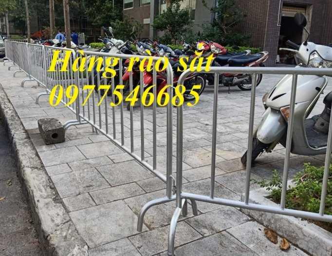 Bán hàng rào di động, khung hàng rào chắn, rào chắn đường, khung hàng rào sắt