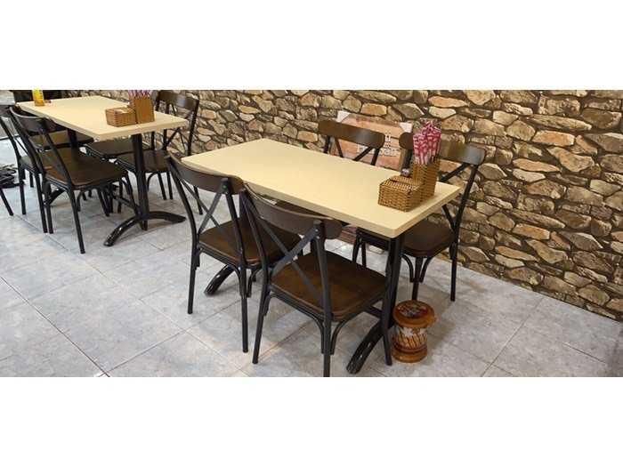 Bàn ghế cafe gỗ nệm giá tốt Nội Thất Nguyễn Hoàng1