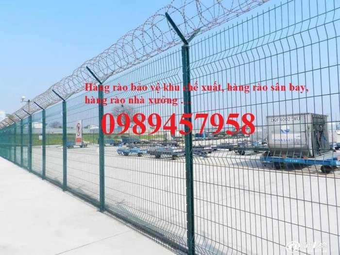 Sản xuất hàng rào lượn sóng, Hàng rào gập tam giác 2 đầu, Hàng rào mạ kẽm3