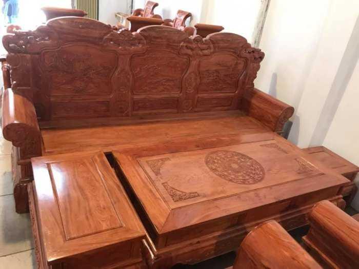Bộ bàn ghế Khổng Tửgỗ hương đá13