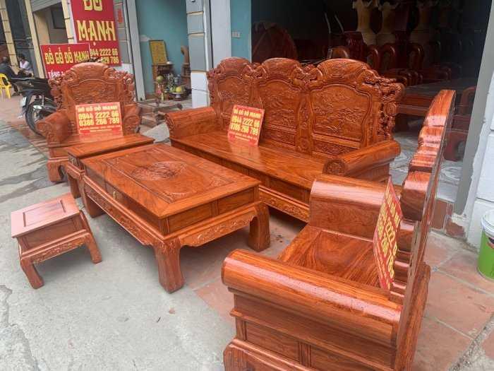 Bộ bàn ghế Khổng Tửgỗ hương đá11