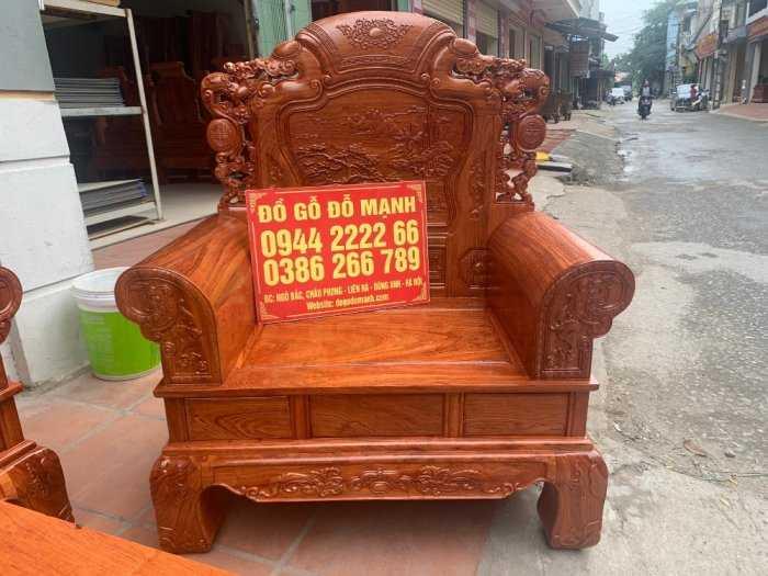 Bộ bàn ghế Khổng Tửgỗ hương đá8