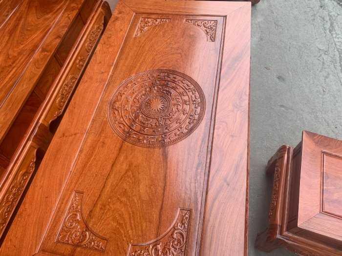 Bộ bàn ghế Khổng Tửgỗ hương đá7