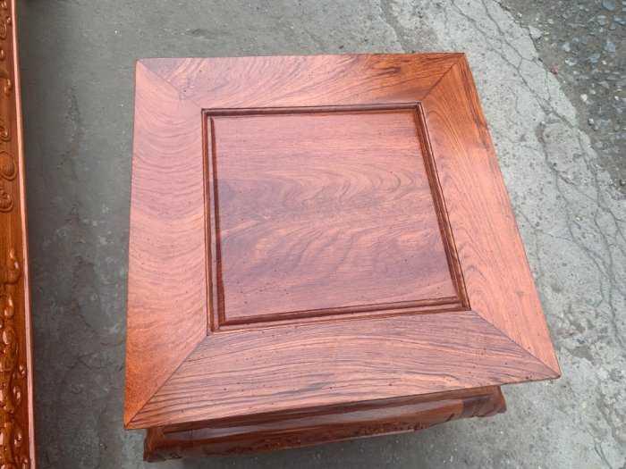 Bộ bàn ghế Khổng Tửgỗ hương đá6