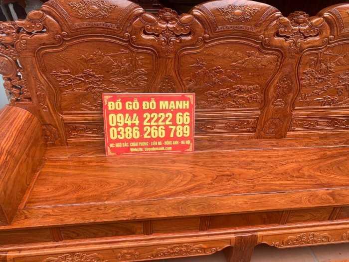 Bộ bàn ghế Khổng Tửgỗ hương đá4