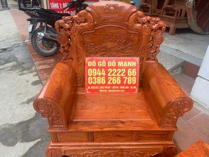 Bộ bàn ghế Khổng Tửgỗ hương đá2