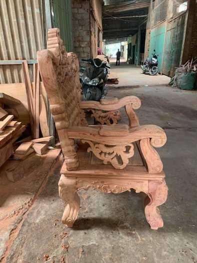 Bộ bàn ghế mẫu mới hoàng gia gỗ hương đá8