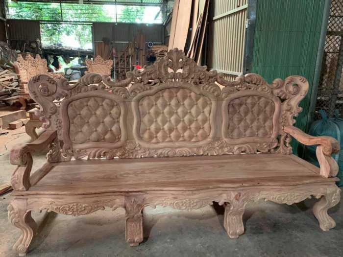 Bộ bàn ghế mẫu mới hoàng gia gỗ hương đá4