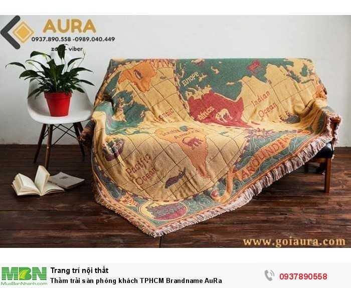 Thảm trải sàn phòng khách TPHCM Brandname AuRa