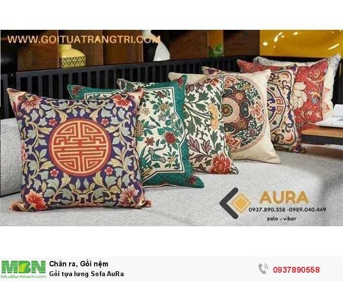Gối tựa lưng Sofa AuRa hoạt hình, phong cảnh Đẹp