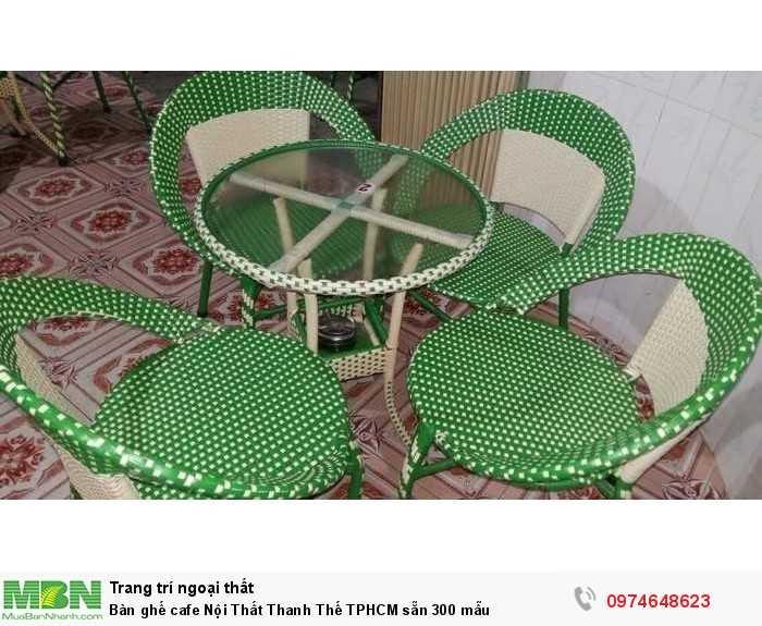 Bàn ghế cafe  Nội Thất Thanh Thế TPHCM sẵn 300 mẫu