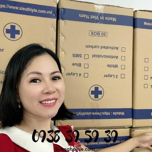 Giá Khẩu trang 4 lớp nguyên thùng FDA27