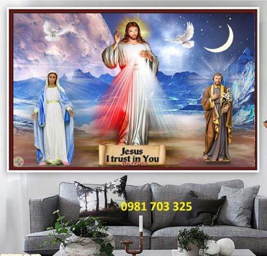 Gạch tranh 3D công giáo1