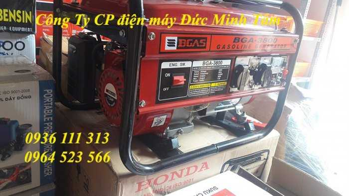 Máy phát điện chạy xăng Bgas BGA2500G 2,2kw2