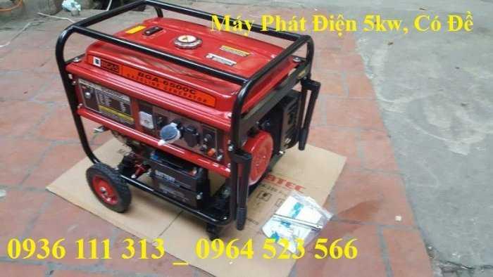Máy phát điện chạy xăng Bgas BGA2500G 2,2kw1