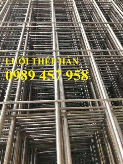 Lưới thép hàn đổ mái phi 6 ô 200x200, Lưới thép hàn đổ sàn bê tông giá tốt7