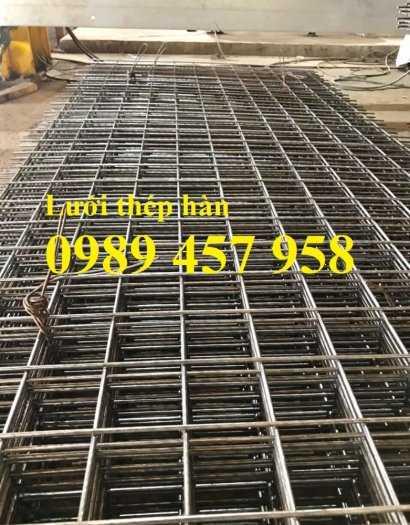 Lưới thép hàn đổ mái phi 6 ô 200x200, Lưới thép hàn đổ sàn bê tông giá tốt6