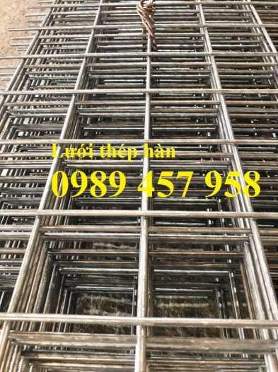 Lưới thép hàn đổ mái phi 6 ô 200x200, Lưới thép hàn đổ sàn bê tông giá tốt5
