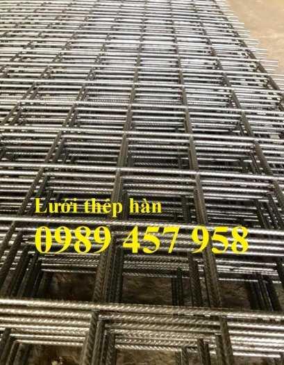 Lưới thép hàn đổ mái phi 6 ô 200x200, Lưới thép hàn đổ sàn bê tông giá tốt4