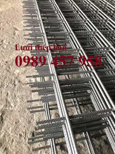 Lưới thép hàn đổ mái phi 6 ô 200x200, Lưới thép hàn đổ sàn bê tông giá tốt3