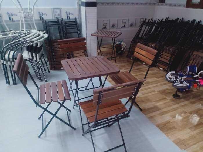 Bàn ghế cafe thanh lý giá tại xưởng sản1