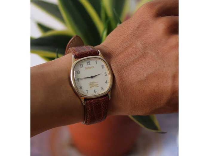 Đồng hồ burberrys london bọc vàng4