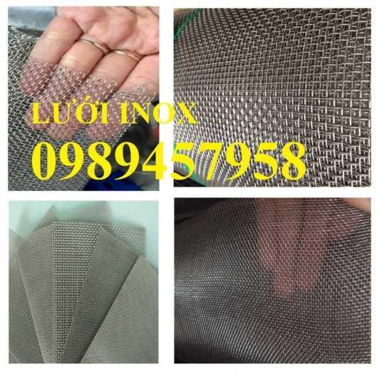 Chuyên lưới inox 304 dây 0,2mm, 1mm, 1,2mm, 1,5mm, 2ly, 3ly3