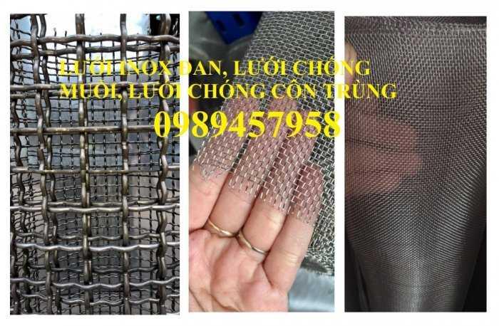Chuyên lưới inox 304 dây 0,2mm, 1mm, 1,2mm, 1,5mm, 2ly, 3ly1