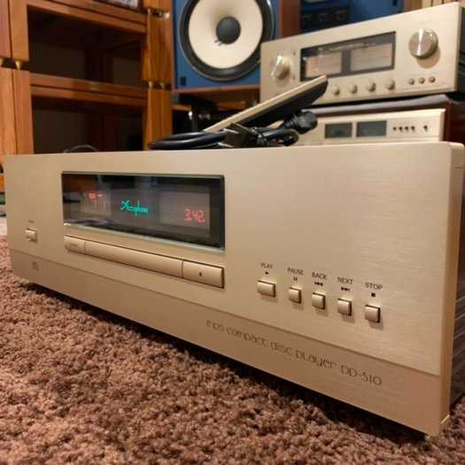 CD Accuphase DP-5104