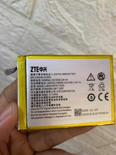 Pin rời cho bộ phát wifi ZTE MF920, MF920V, MF920W+, MF910, MF910S chính hãng6