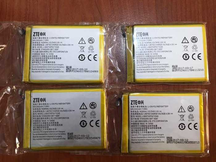Pin rời cho bộ phát wifi ZTE MF920, MF920V, MF920W+, MF910, MF910S chính hãng1
