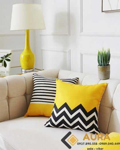 SỈ số lượng lớn Gối Tựa Lưng Hình Lập Thể Dùng cho ghế sofa, nệm dựa lưng quán trà sữa2