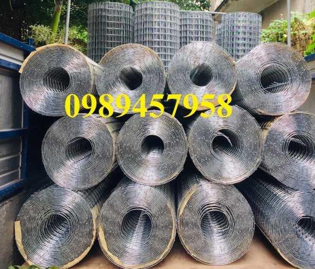Lưới thép hàn dây 1ly, Lưới mạ kẽm 2ly, Lưới làm giàn lan 3ly và 4ly ô 50x50, 100x10012