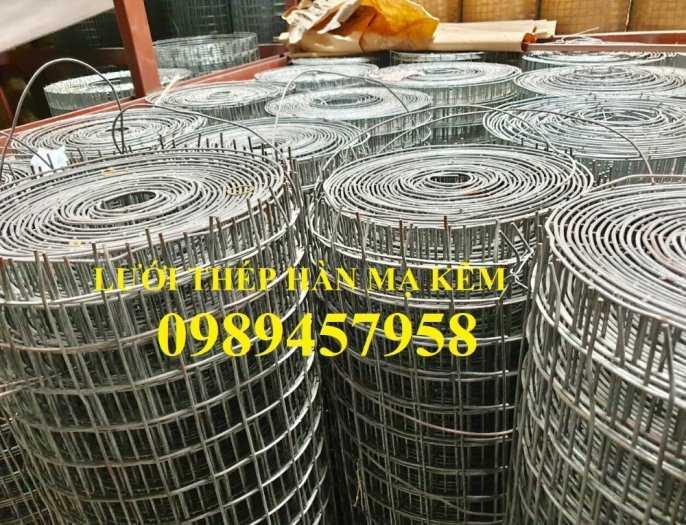 Lưới thép hàn dây 1ly, Lưới mạ kẽm 2ly, Lưới làm giàn lan 3ly và 4ly ô 50x50, 100x1008